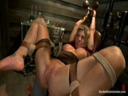 Charisma Cappeli gets restrained and fisted 