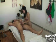 Asian Getting Ready To Finish Him Off