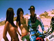 More badass motorcross babes from Playboy